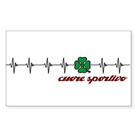 Alfa Romeo Cuore Sportivo Sticker (Rectangle)