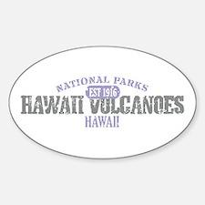 Hawaii Volcanoes Nat Park Decal