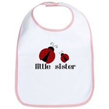 Little Sister Ladybug Bib