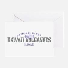 Hawaii Volcanoes Nat Park Greeting Card