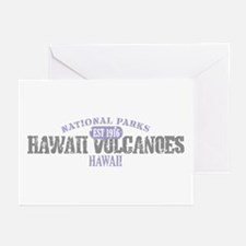 Hawaii Volcanoes Nat Park Greeting Cards (Pk of 10