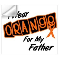 I Wear Orange For My Father 8 Wall Art Wall Decal