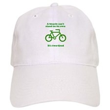 Bicycle Stand On Its Own Baseball Cap