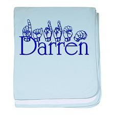 Darren baby blanket