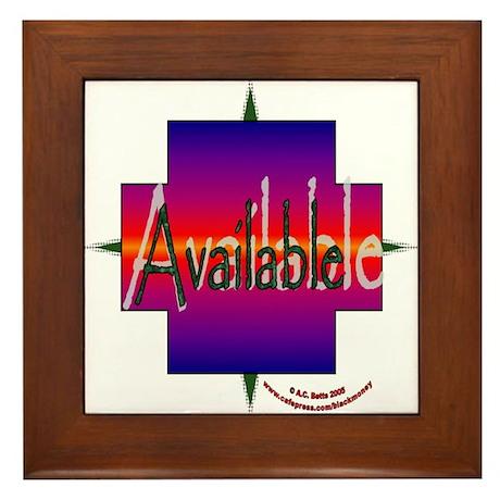 Available Framed Tile