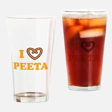 HG I love Peeta Drinking Glass