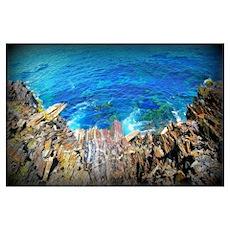 Nova Scotia Cliffs Wall Art Print Poster