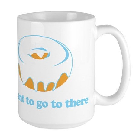 I Want To Go There Donuts Large Mug