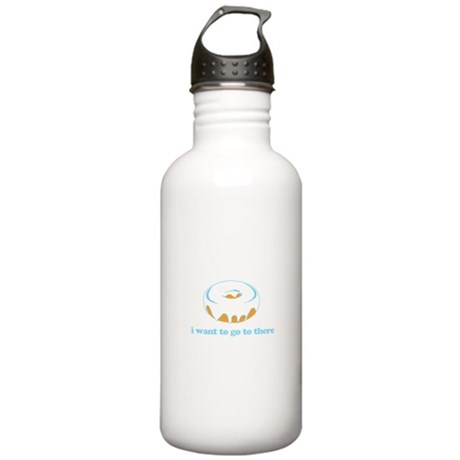 I Want To Go There Donuts Stainless Water Bottle 1