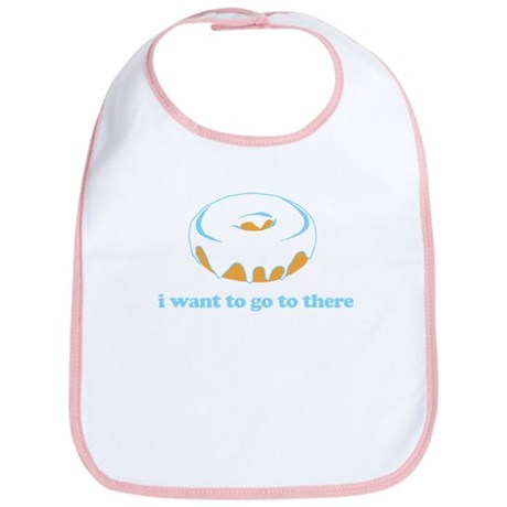 I Want To Go There Donuts Bib