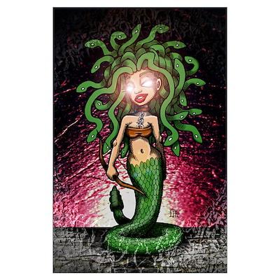 Medusa by Paul Lourenco Wall Art Poster