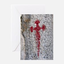 St James Cross Card