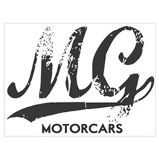 MG Cars Wall Art Poster