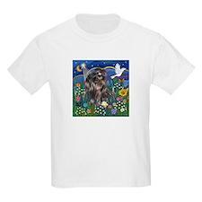 MoonGarden-Shih Tzu (blk) T-Shirt