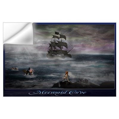 Mermaid Cove Wall Art Wall Decal