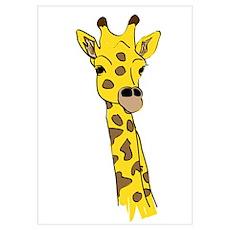 Giraffes Wall Art Poster
