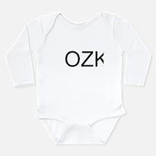 Funny Lake of the ozarks Long Sleeve Infant Bodysuit