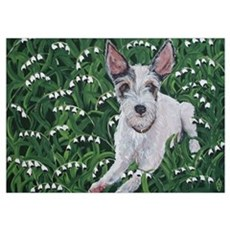 """""""Jack Russell"""" Wall Art Poster"""