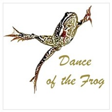 Dance of the Frog Wall Art Poster