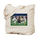Shih tzu Regular Canvas Tote Bag