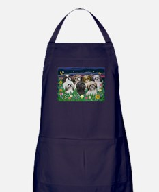 7 Shih Tzu Cuties Apron (dark)