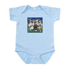 7 Shih Tzu Cuties Infant Bodysuit