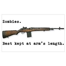 Best kept at arm's length... Wall Art Poster