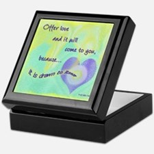 ACIM Weekly Thought Keepsake Box