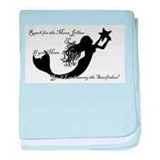 Reach for The Moon... baby blanket