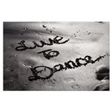 Latin dancing Wrapped Canvas Art