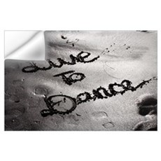 LIVE TO DANCE - ART PRINT The Dance Lounge Wall Decal
