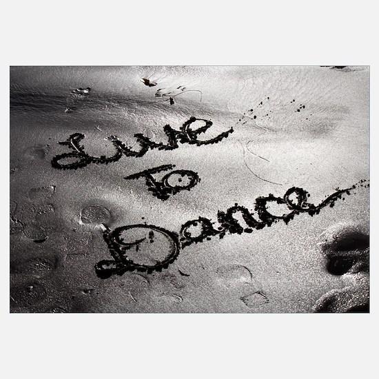 LIVE TO DANCE - ART PRINT The Dance Lounge