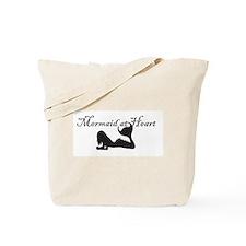 Mermaid at Heart (white) Tote Bag