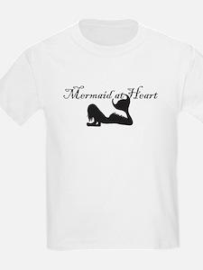 Mermaid at Heart (white) T-Shirt