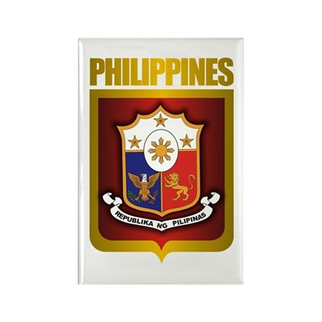 """""""Philippine Gold"""" Rectangle Magnet"""