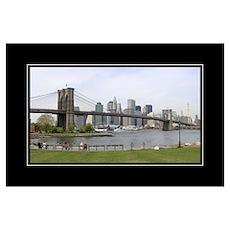 Brooklyn Bridge Wall Art Poster