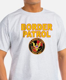 Border Patrol - back blk T-Shirt