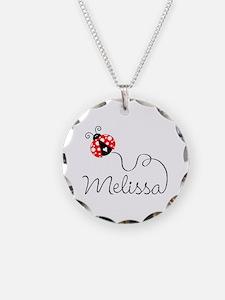 Ladybug Melissa Necklace