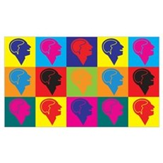 Psychology Pop Art Wall Art Framed Print
