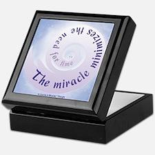 ACIM Keepsake Box -Miracle minimizes... time
