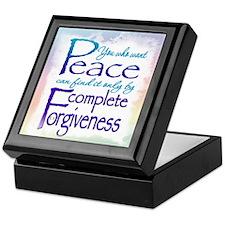 ACIM Keepsake Box - You who want peace