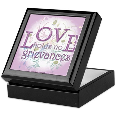 ACIM Keepsake Box -Love holds no grievances
