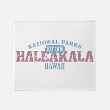 Haleakala National Park HI Throw Blanket