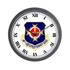 40th AEW Wall Clock