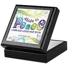 ACIM Keepsake Box - Abide in Peace