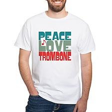 Peace Love Trombone Shirt