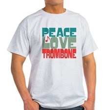 Peace Love Trombone T-Shirt
