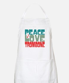 Peace Love Trombone Apron
