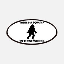 There's a Squatch in these wo Patches