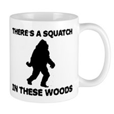 There's a Squatch in these wo Mug